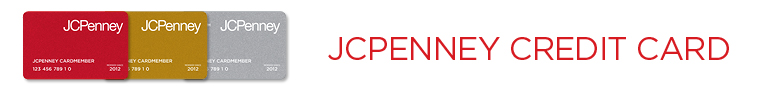 JCPenny Online Credit Center Header